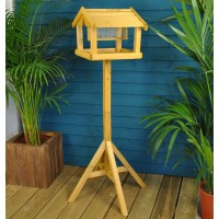Premium Wooden Bird Table by Kingfisher