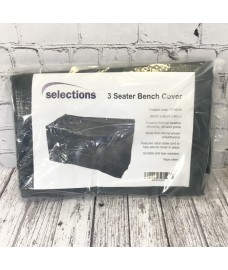 Waterproof 3 Seater Garden Bench Cover (1.6m)