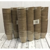 Round Fibre 7cm Plant Pots (Pack of 288) Biodegradable and Compostable