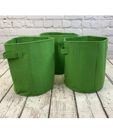 Potato & Vegetable Planter Grow Bags 26 Litre (Set of 3) Non - Woven Aeration Fabric Pots