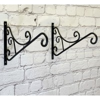 Metal Mercia Hanging Basket Brackets (Set of 2)
