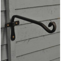 Blacksmith Square Hanging Basket Hook (21cm) by Gardman