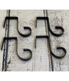 Bracket Fence Panel Hooks (Set of 4)