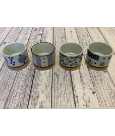 Round Succulent and Cactus Plant Pots (Set of 4)
