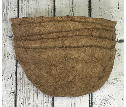 Pack of 5 Coco Wall Basket Planter Liner (40cm)