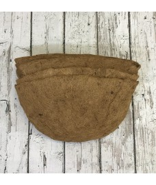 Pack of 5 Coco Wall Basket Planter Liner (50cm)
