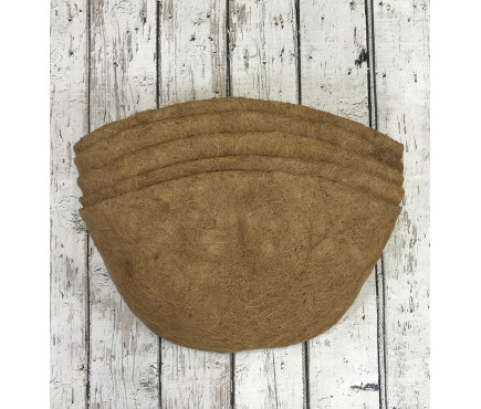 Pack of 5 Coco Wall Basket Planter Liner (60cm)