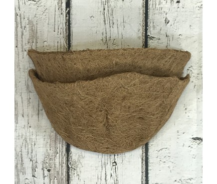 Pack of 2 Coco Wall Basket Planter Liner (30cm)