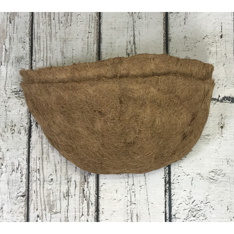 Pack of 2 Coco Wall Basket Planter Liner (40cm)