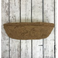 Pack of 2 Extra Deep Coco Wall Trough Planter Liner (60cm)