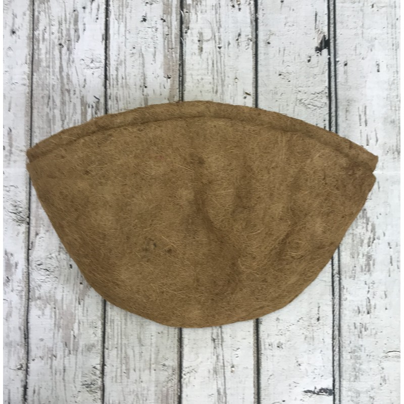 Pack of 2 Coco Wall Basket Planter Liner (60cm)