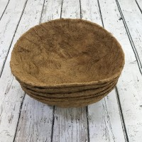 Pack of 5 Round Coco Hanging Basket Planter Liner (40cm)
