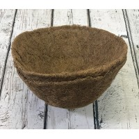 Pack of 2 Round Coco Hanging Basket Planter Liner (25cm)