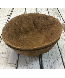 Pack of 2 Round Coco Hanging Basket Planter Liner (35cm)