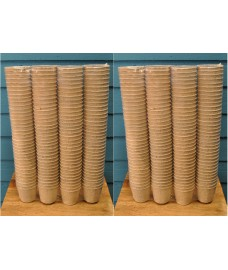 Round Fibre 5cm Plant Pots (Pack of 288) Biodegradable and Compostable