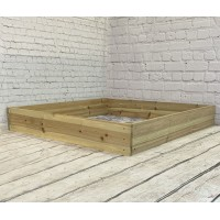 Wooden Raised Vegetable Bed (122cm x 18cm)