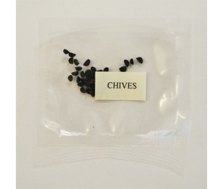 Chive Seeds for Wooden Herb Planter