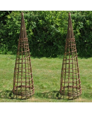 Set of 2 Rustic Wi..