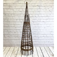 Rustic Willow Garden Obelisk (1.5m)