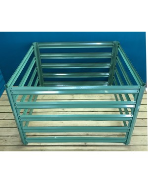 Metal Slatted Gard..