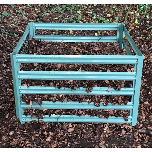 110cm x 70cm Selections Metal Slatted Garden Composter in Green