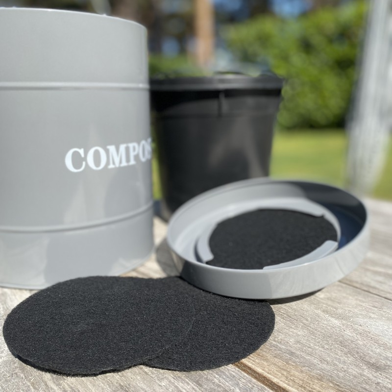 Factory Seconds - Set of 5 Kitchen Compost Caddy Carbon Filters