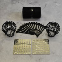 Gutter Protection Mesh Guard (6m), Downpipe Filter Guards (2) & Stainless Steel Drain Covers (2)