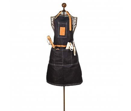Denim Garden Apron