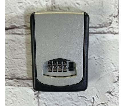 Wall Mounted Key Storage Safe - 4 Digit Roller Lock