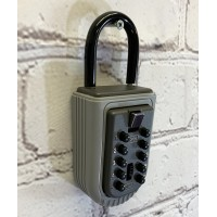 Portable Padlock Style Key Storage Safe