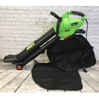 3000 Watt Electric Garden Leaf Blower Vacuum And Mulcher with 2 Collection Bags
