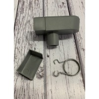 Fixings for Greenhouse Guttering Rainwater Pack