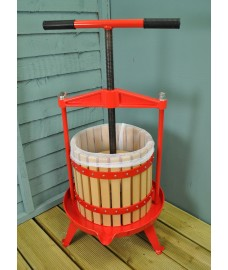 12 Litre Traditional Fruit and Apple Cider Press with Cross Bar and T Handle