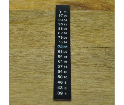 Stick on Self Adhesive LCD Thermometer