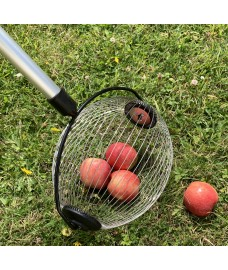 Telescopic Apple Collector with Bucket Clip
