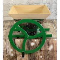 Manual Apple Scratter Pulper Pomace with Wooden Hopper Extension
