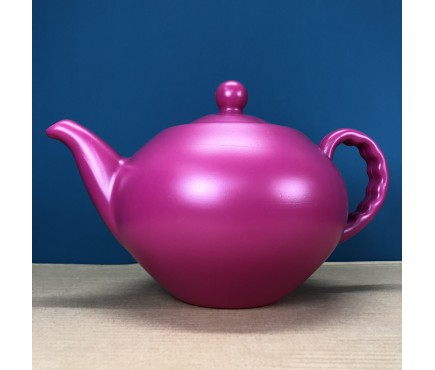Large Teapot Watering Can in Pink