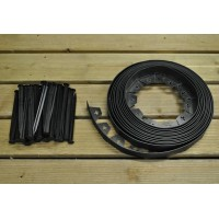 Flexible Plastic Garden Edging with 40 Pegs (10m) - Damaged Box Stock