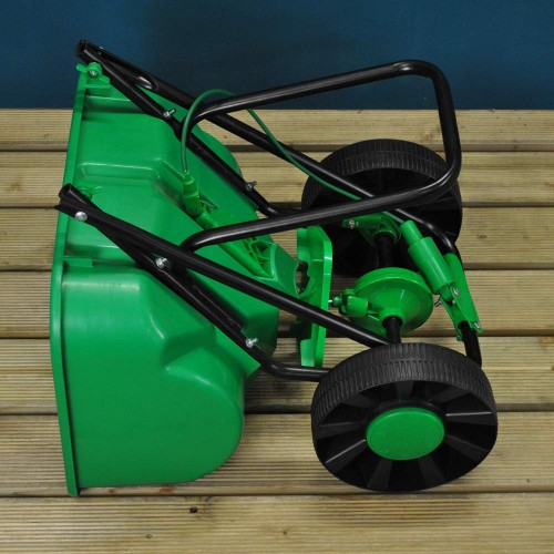 Lawn Rotary Broadcast Spreader Feed Fertilizer Seed and Sand 27 Litre Capacity