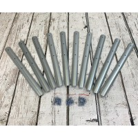 Lawn Edging Log Roll Stakes (Pack of 10)