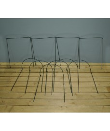 Garden Hoop Plant Bow Support System 45cm x 60cm (Pack of 10)
