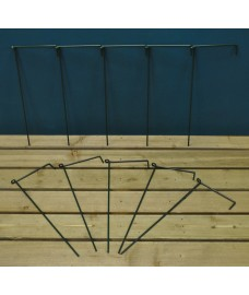 Garden Linked Metal Plant Support for Herbaceous Plants 50cm x 20cm (Pack of 10)
