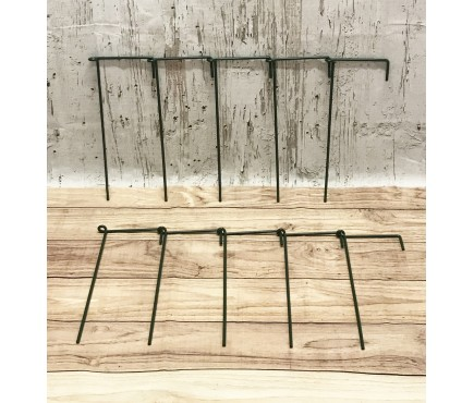 Garden Linked Metal Plant Support for Herbaceous Plants 35cm x 15cm (Pack of 10)