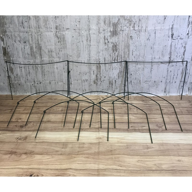 Garden Extra Wide Hoop Plant Bow Support System 60cm x 40cm (Pack of 10)