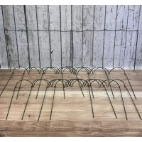Garden Extra Wide Multi-Hoop Plant Bow Support System 90cm x 60cm (Pack of 10)