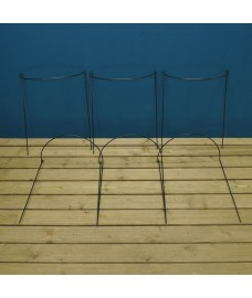 Garden Hoop Plant Bow Support System 45cm x 60cm (Pack of 6)