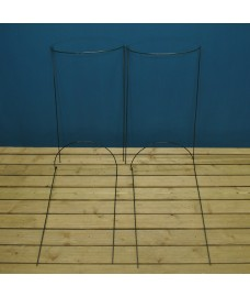 Garden Hoop Plant Bow Support System 52cm x 90cm (Pack of 4)