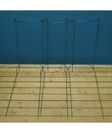 Garden Hoop Plant Bow Support System 52cm x 90cm (Pack of 6)
