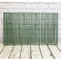 Set of 40 Plastic Coated Metal Plant Support Sticks (60cm)