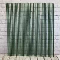 Set of 40 Plastic Coated Metal Plant Support Sticks (120cm)